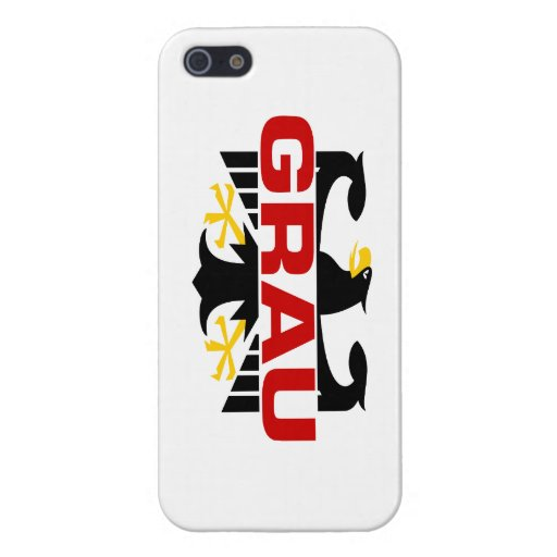 Grau Surname Covers For iPhone 5