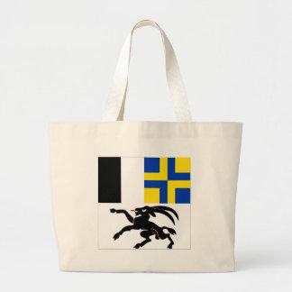 Graubuenden Flag Jumbo Tote Bag
