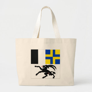 Graubuenden Flag Large Tote Bag