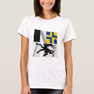 Graubuenden Waving Flag T-Shirt