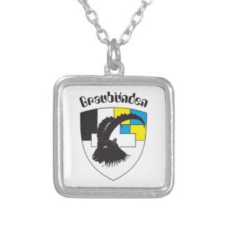 Graubünden Switzerland chains Silver Plated Necklace