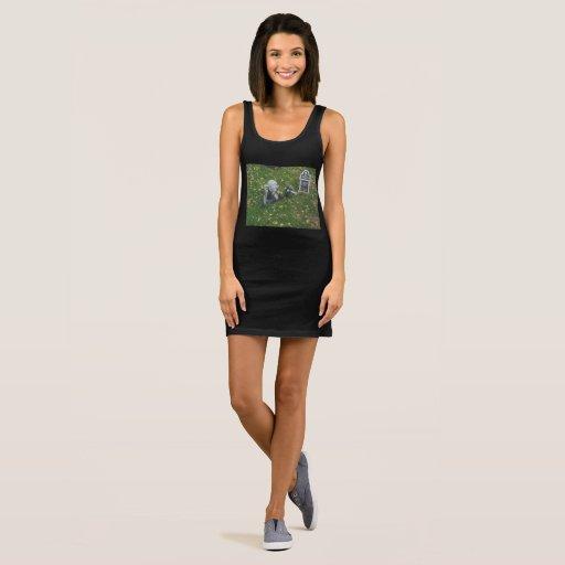 grave breaking zombie Sleeveless Dress
