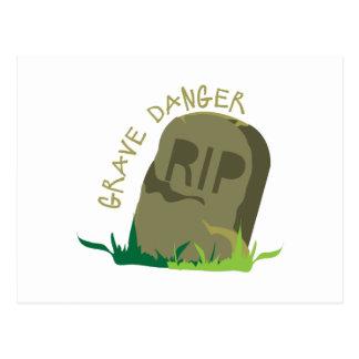 Grave Danger Postcards
