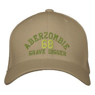 Grave Digger A Embroidered Hat