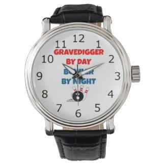 Gravedigger by Day Bowler by Night Watch