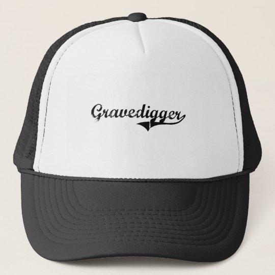 Gravedigger Professional Job Trucker Hat