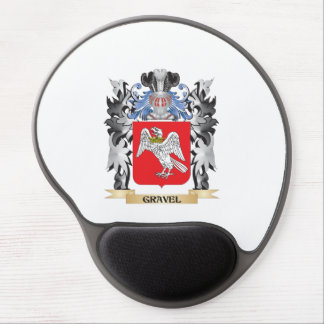 Gravel Coat of Arms - Family Crest Gel Mouse Pad