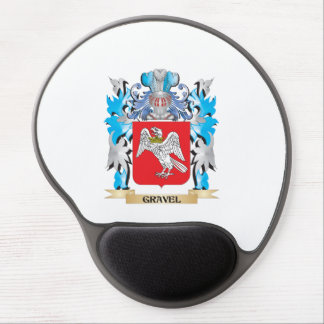Gravel Coat of Arms - Family Crest Gel Mouse Mats