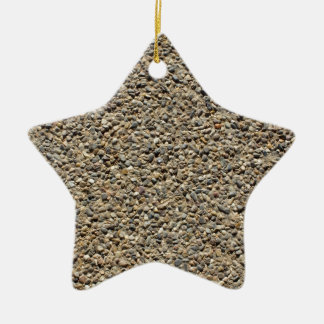 Gravel & Sand Photo Christmas Ornament