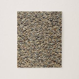 Gravel & Sand Photo Jigsaw Puzzle