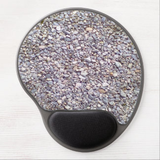 Gravel stone ground gel mouse pad