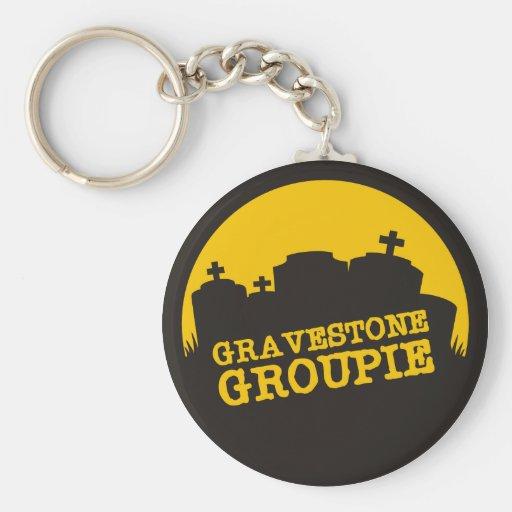 Gravestone Groupie 2 Keychains