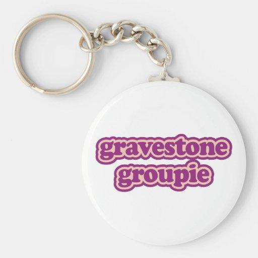 Gravestone Groupie Key Chains