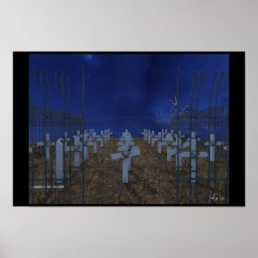 Graveyard 3D Print