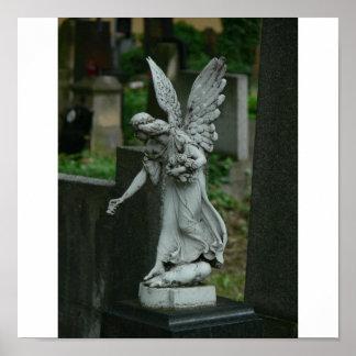Graveyard Angel Poster