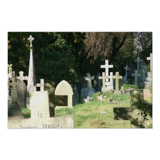 Graveyard Print