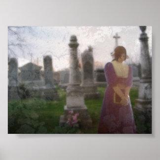 Graveyard Prayer Poster
