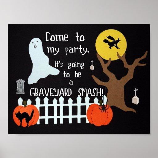 Graveyard Smash! Print