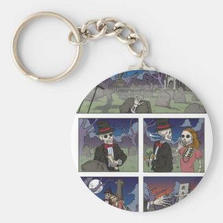 Graveyard Speed Dating Key Ring Basic Round Button Key Ring