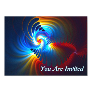 Gravitational Blueshift 13 Cm X 18 Cm Invitation Card