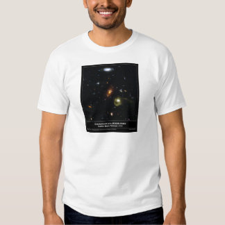 Gravitational Lens Bending Light Tee Shirts