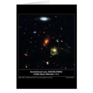 GravitationalLens-J033238-275653-2004-21a Greeting Card