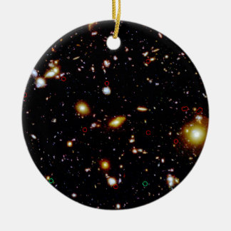Gravitationally Lensed High-Redshift Galaxy Candid Ornaments