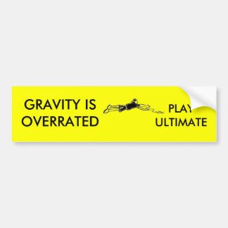 Gravity Bumper Sticker