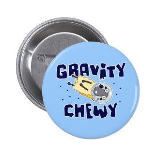 Gravity Chewy Sheep 6 Cm Round Badge