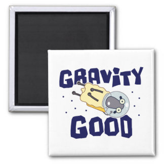 Gravity Good Sheep Square Magnet