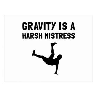 Gravity Harsh Mistress Postcard