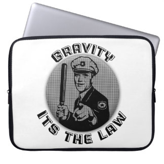 Gravity Its The Law Laptop Computer Sleeves