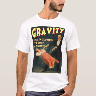 Gravity Like Evolution Its Only a Theory T-Shirt