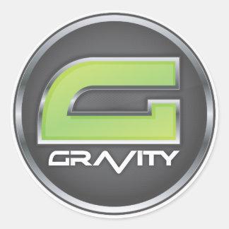 Gravity Logo Stickers
