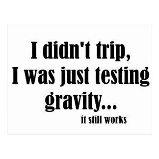 Gravity Works Postcard