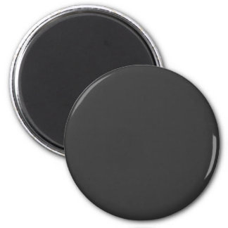 Gray #333333 Solid Color Refrigerator Magnet