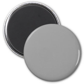 Gray #999999 Solid Color Magnet