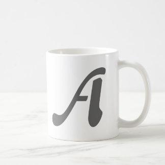 Gray-A mug