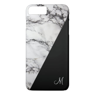 Gray And Black Marble Stone Texture iPhone 8 Plus/7 Plus Case