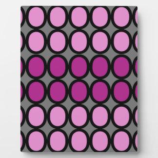 Gray and Purple Splash of O's Plaque