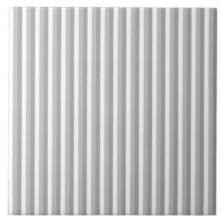 Gray and white stripes. Pattern. Tile