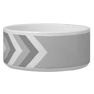 Gray and White Zig Zag Pattern. Part Plain Gray.