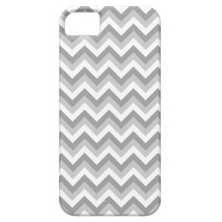 Gray and White Zigzag Pattern. iPhone 5 Cover