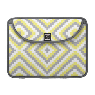 Gray and Yellow MacBook Pro Sleeve