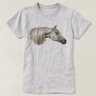 Gray Arabian Horse Equine T-Shirt
