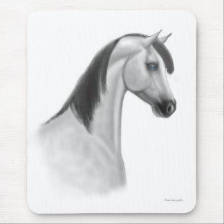 Gray Arabian Horse Mousepad