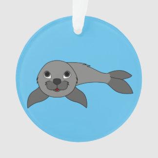 Gray Baby Seal