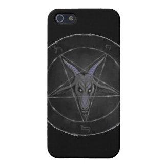 Gray Baphomet iPhone 5/5S Case