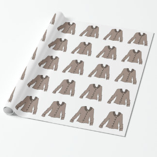 Gray Blouse Wrapping Paper