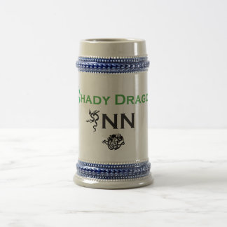Gray/Blue 22 oz Stein